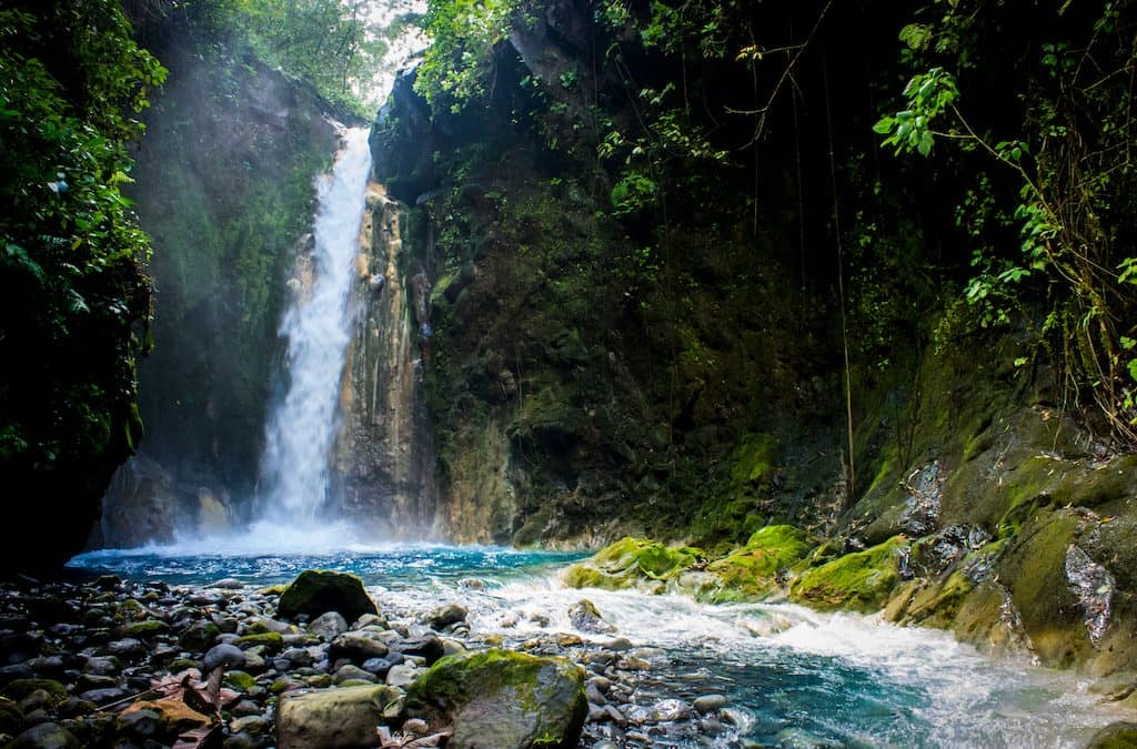 Nine Waterfalls within Driving Distance from Playa Grande, Costa Rica