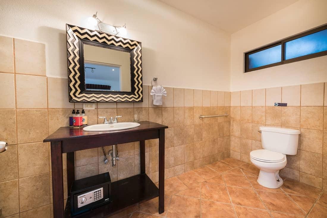 wheel chair accessible bathroom