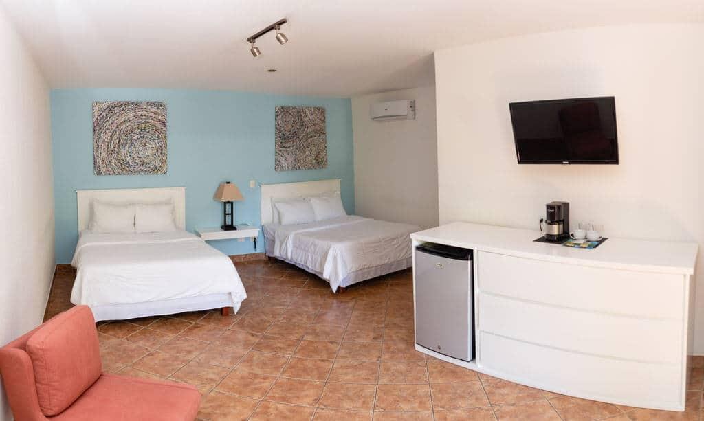 deluxe hotel room playa grande