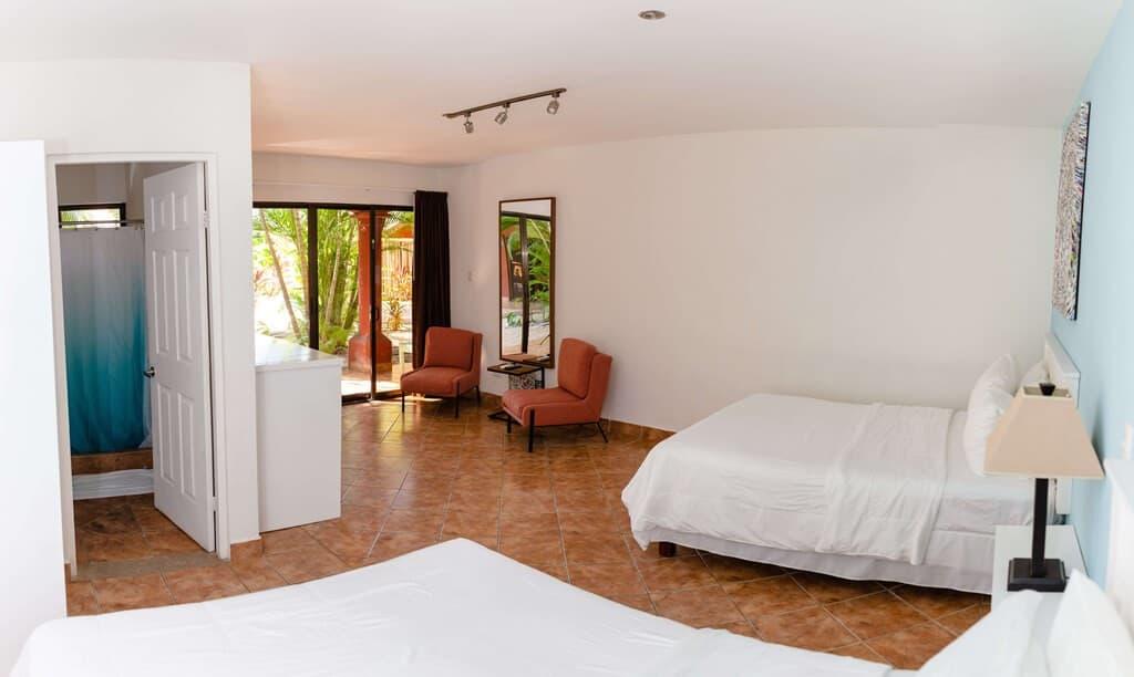Playa Grande hotel room - deluxe double